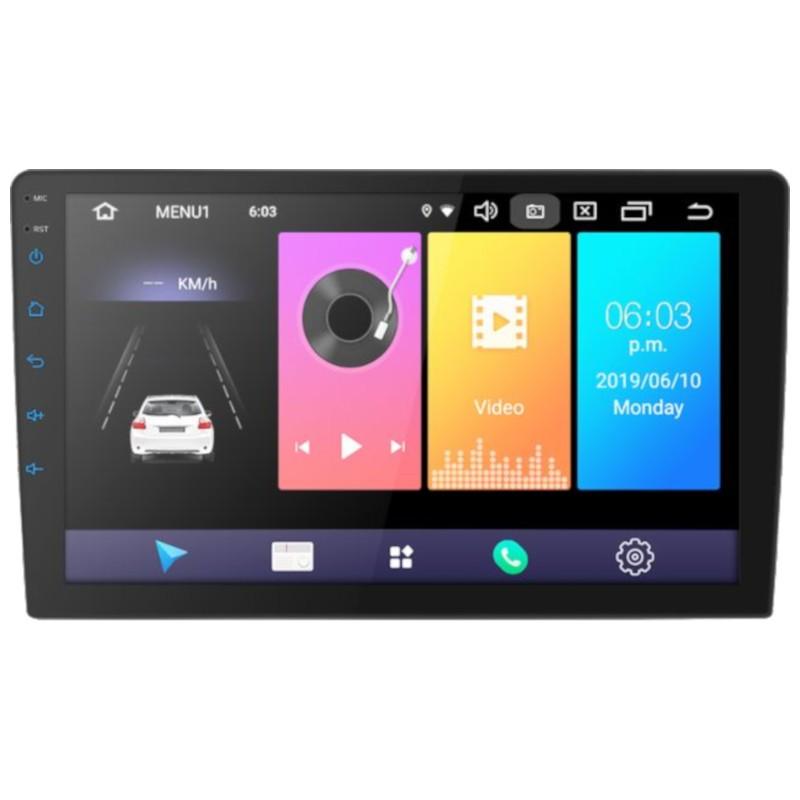 Autoradio 2 DIN 9 Android 9.0 / 2GB/ 16GB / Bluetooth / Wi-Fi / GPS ao carro