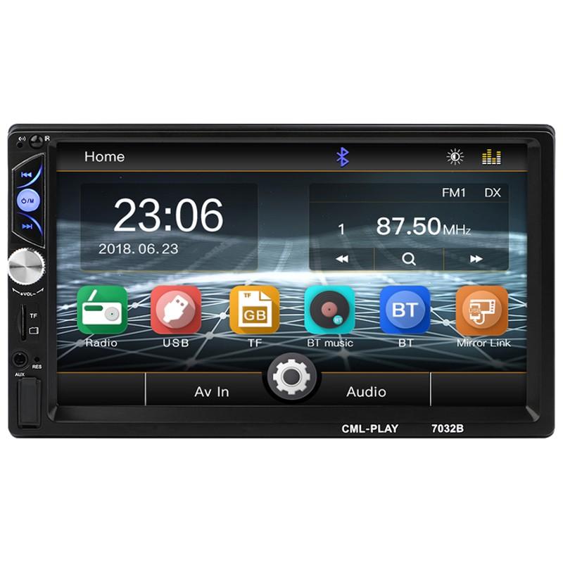Autoradio 2 DIN CL-7032B 7 Bluetooth / Mirror Link / USB / Micro SD / AUX