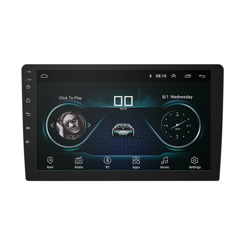 Autoradio CL-101A 10 Android 8.1 / 1GB/ 16GB / Bluetooth / Wi-Fi / GPS