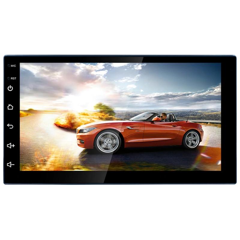Autorádio 2 DIN RK-A708 7 Bluetooth / Mirror Link / USB / Micro SD / Controlo Remoto