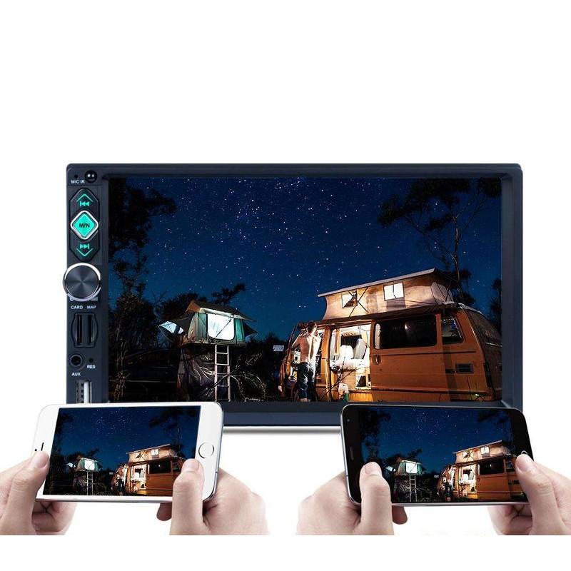Car Radio 2 DIN RK-7160G Bluetooth/Mirror Link/USB/Micro SD/Remote Control