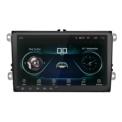 Autorádio 2 DIN para Volkswagen 9 Android 8.1 / 1GB RAM / 16GB ROM / Wi-Fi / Bluetooth / Mirror Link / GPS