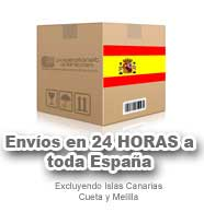 Envios en 24 horas a toda España