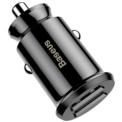 Baseus Cargador de Coche Dual USB 3.1A Small Rice Grain