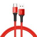 Baseus Halo Cabo USB para USB Tipo C 3A 1M