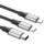 Baseus Rapid Cable 3 en 1 USB Tipo C a USB Tipo C + Lightning + Micro USB 1.2M - Ítem3