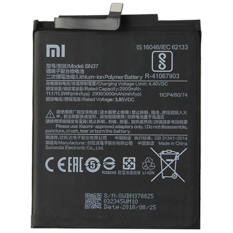 Bateria Xiaomi Redmi 6 / Redmi 6A - BN37