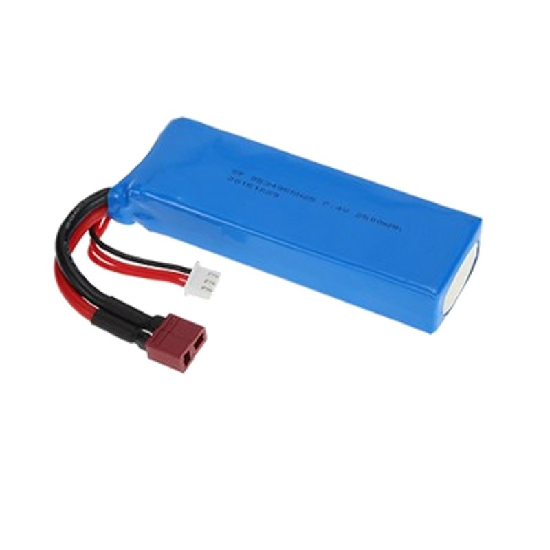 atería 2500 mAh 7.4V Li-Po Wltoys L303 / L323 / L313 - Batería Compatible Exclusivamente con los modelos Wltoys: L303 / L323 / L313 - Capacidad 2500 mAh