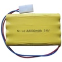 Battery Land Buster 9.6V 800 mAh Li-Cd LD747