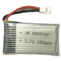 Batería Syma X5 / X5C / X5SC / X5SW 850mAh 3.7V Li-Po - Batería de repuesto para dronesRC compatible con los modelos Syma:X5 / X5C / X5SC / X5SW.