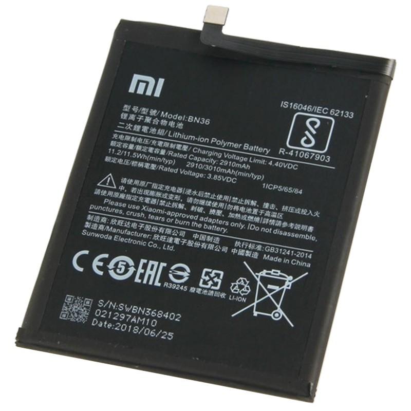 Bateria Xiaomi Mi A2 - BN36