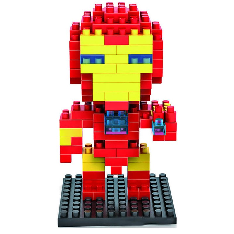 LOZ Blocks Ironman