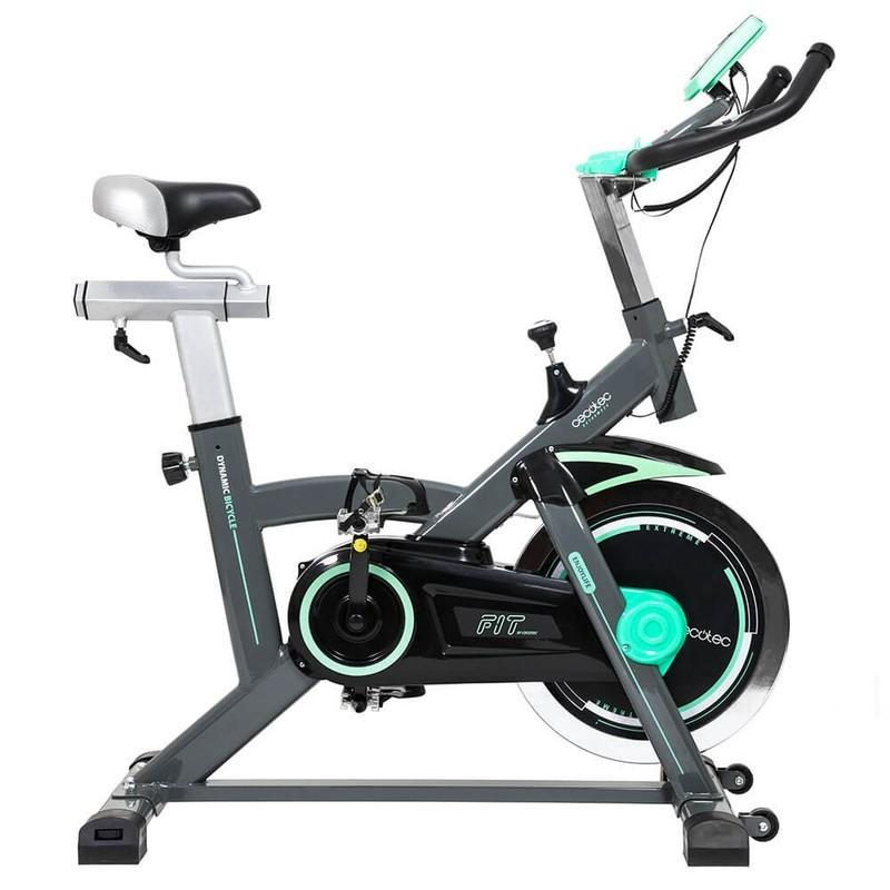Bicicleta Cecotec SpinFit Extreme 20 - Bicicleta Spinning profesional de Extreme 20. Con pulsómetro y pantalla LCD.