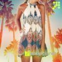 Print Boho Dress