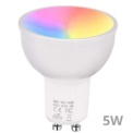 Lâmpada Inteligente FK-A10 GU10 5W RGB