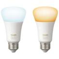 Smart Bulb Philips Hue White Ambiance Pack x2 9.5W E27 Warm / Cold White
