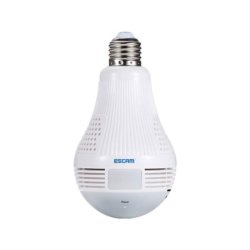 Cámara IP Bombilla LED 360 Grados Escam QP136