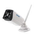 IP Security Camera ESCAM QP02 - IR Led Sensors for Night Environments - MicroSD Storage up to 64GB - IP Camera 1080P - H.264 Codec - 180º Open - IP66 Resistor - 2.4G Wi-Fi Protocol