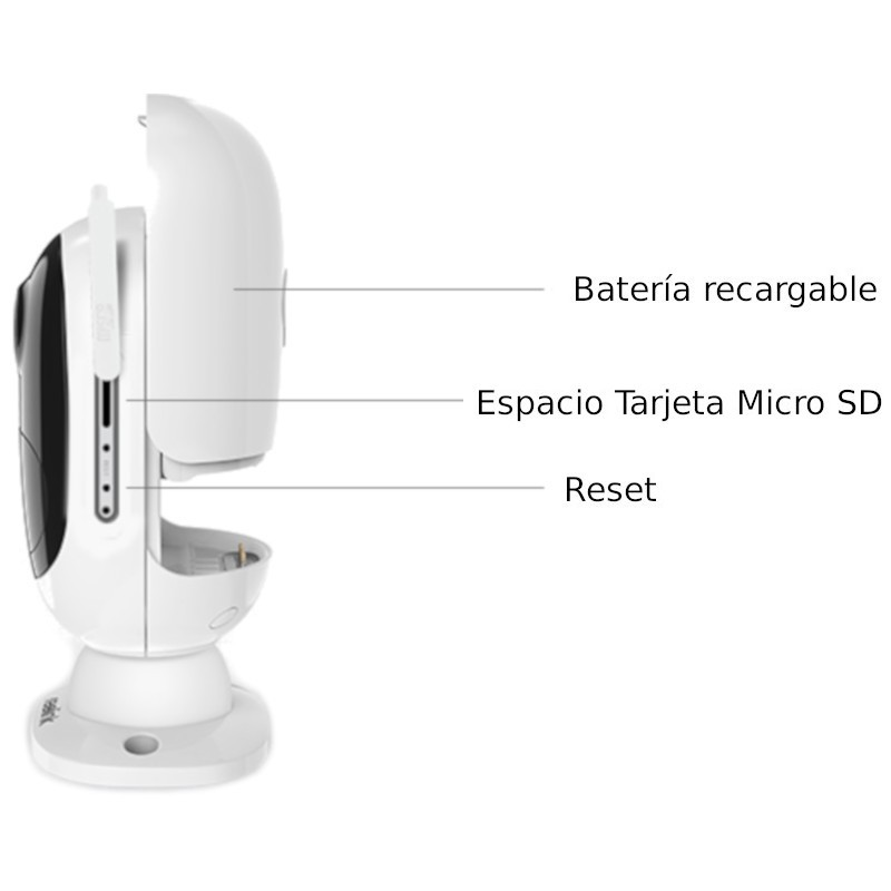 IP Security Camera Reolink Argus 2 Wifi FullHD rechargeable battery