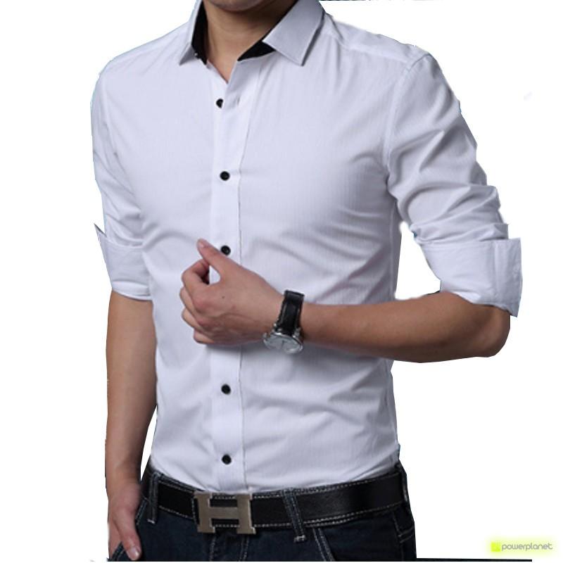 Camisa Basic Blanco - Hombre