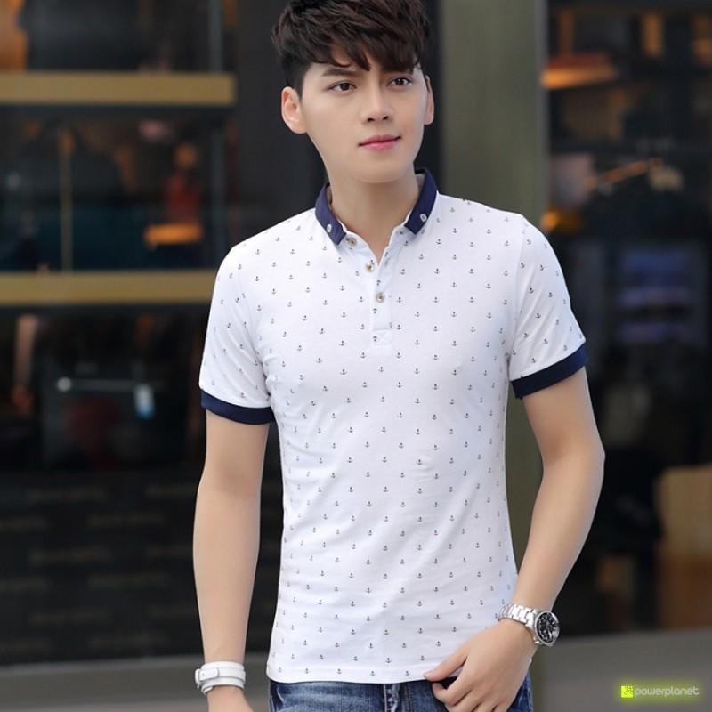 Camisa Marina Blanco - Hombre
