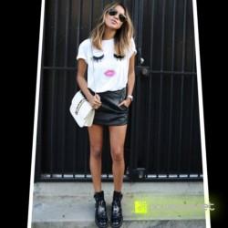 Camisa Print Beautiful Branca - Item3