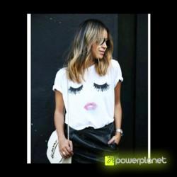 Camisa Print Beautiful Branca - Item1