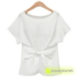 Camiseta Blanca Crazy Loop - Ítem1