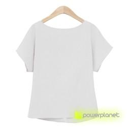 Camiseta Blanca Crazy Loop - Ítem2