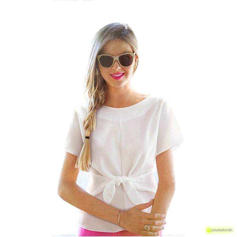 Camiseta Blanca Crazy Loop
