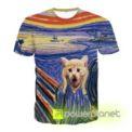 Camiseta The Scream Cat