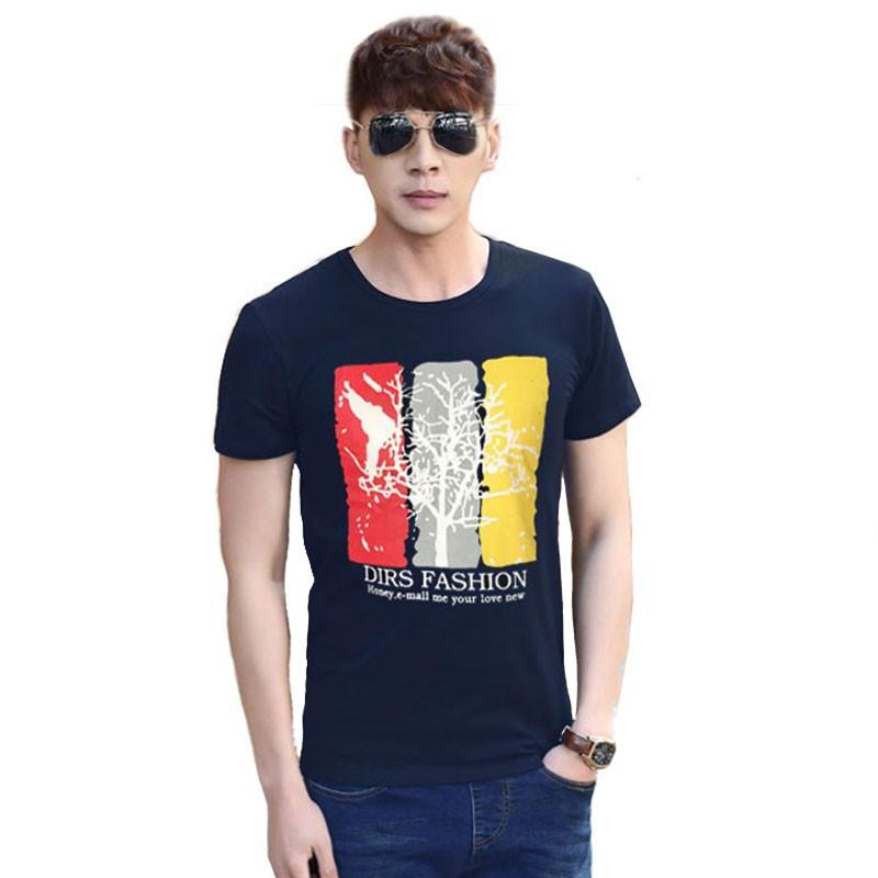 Camiseta Azul Marino L'Arbre