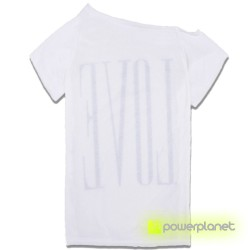 Camiseta Print LOVE Blanca - Ítem1