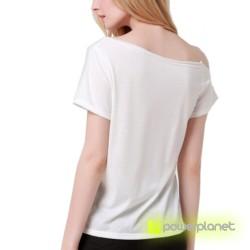Camiseta Print LOVE Blanca - Ítem3
