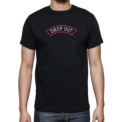 Camiseta Negra Drop Out