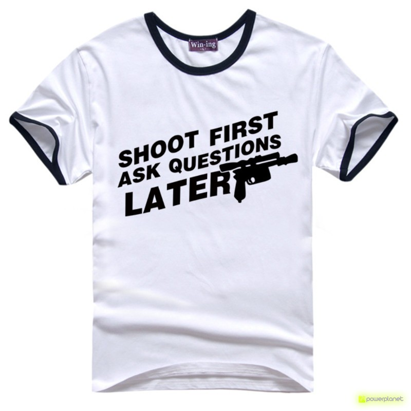 Camiseta Shoot Firts