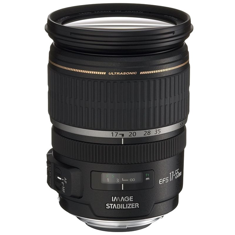 Canon EF-S 17-55mm f / 2.8 IS USM Black - Lens for Canon