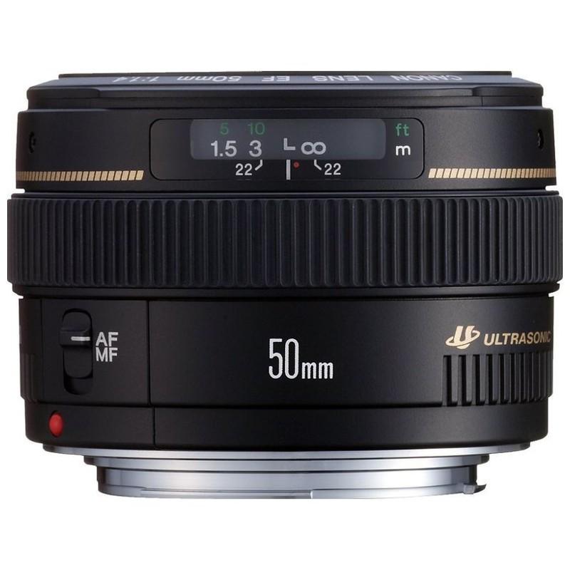 Canon EF 50 mm f/1.4 USM Preto - Lente para Canon