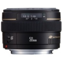 Canon EF 50mm f / 1.4 USM Black - Lens for Canon