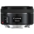 Canon EF 50mm f / 1.8 STM Black - Lens for Canon