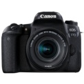 Canon EOS 77D + EF-S 18-55 IS STM - Color negro