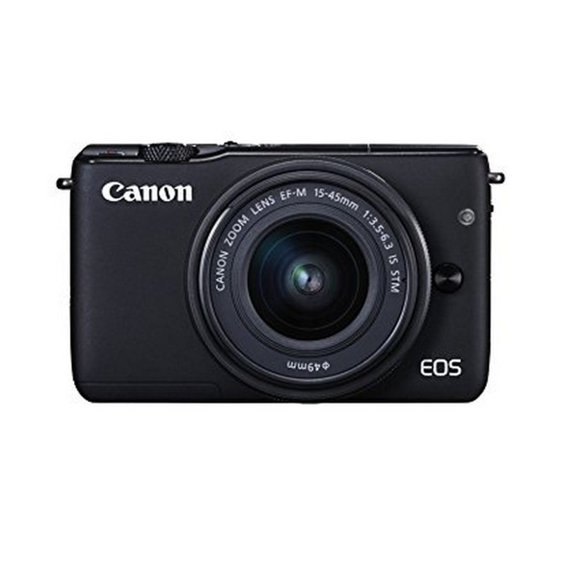 Canon EOS M10 + EF-M 15-45 mm IS STM - Color negro