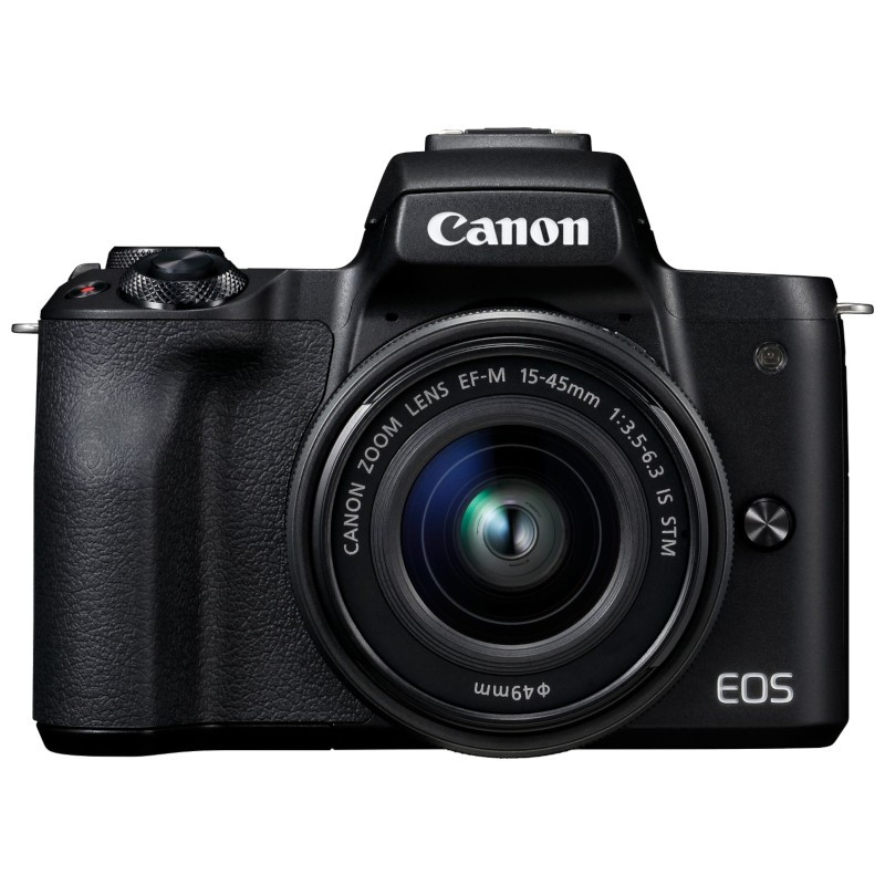 Canon EOS M50 + EF-S 15-45 IS STM Black