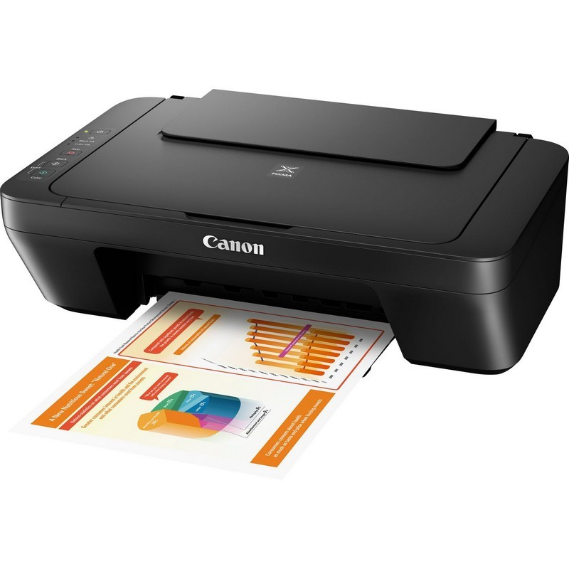 Impresora Multifunción Canon PIXMA MG2550S - 0727C006 - Color Negro