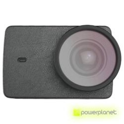 Case couro + Lente UV para Yi Action 4K - Item1