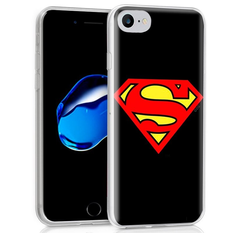 Capa de silicone com print Superman de Cool para iPhone 7 / iPhone 8
