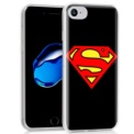 Capa de silicone com print Superman de Cool para iPhone 7 / iPhone 8 - Item