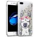 TPU case with Llama print by Cool for iPhone 8 Plus