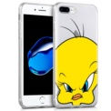 Capa de silicone com print Piolin de Cool para iPhone 8 Plus