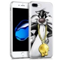 Capa de silicone com print Silvestre de Cool para iPhone 8 Plus - Item